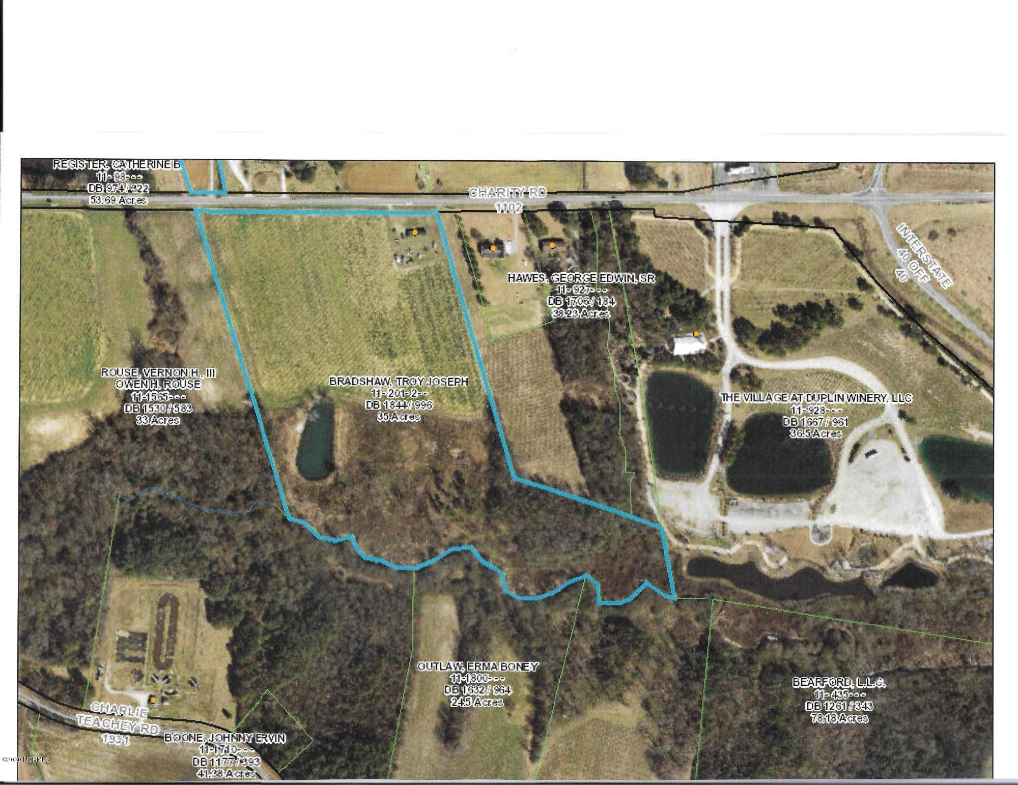 1102 Charity Road, Rose Hill, North Carolina 28458, ,Residential land,For sale,Charity,100227634