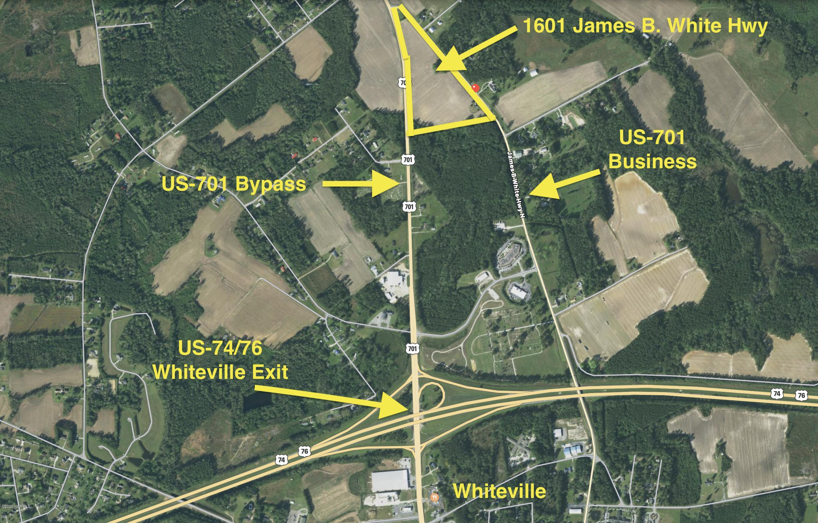 1601 James B White Highway, Whiteville, North Carolina 28472, ,Commercial/industrial,For sale,James B White,100224739