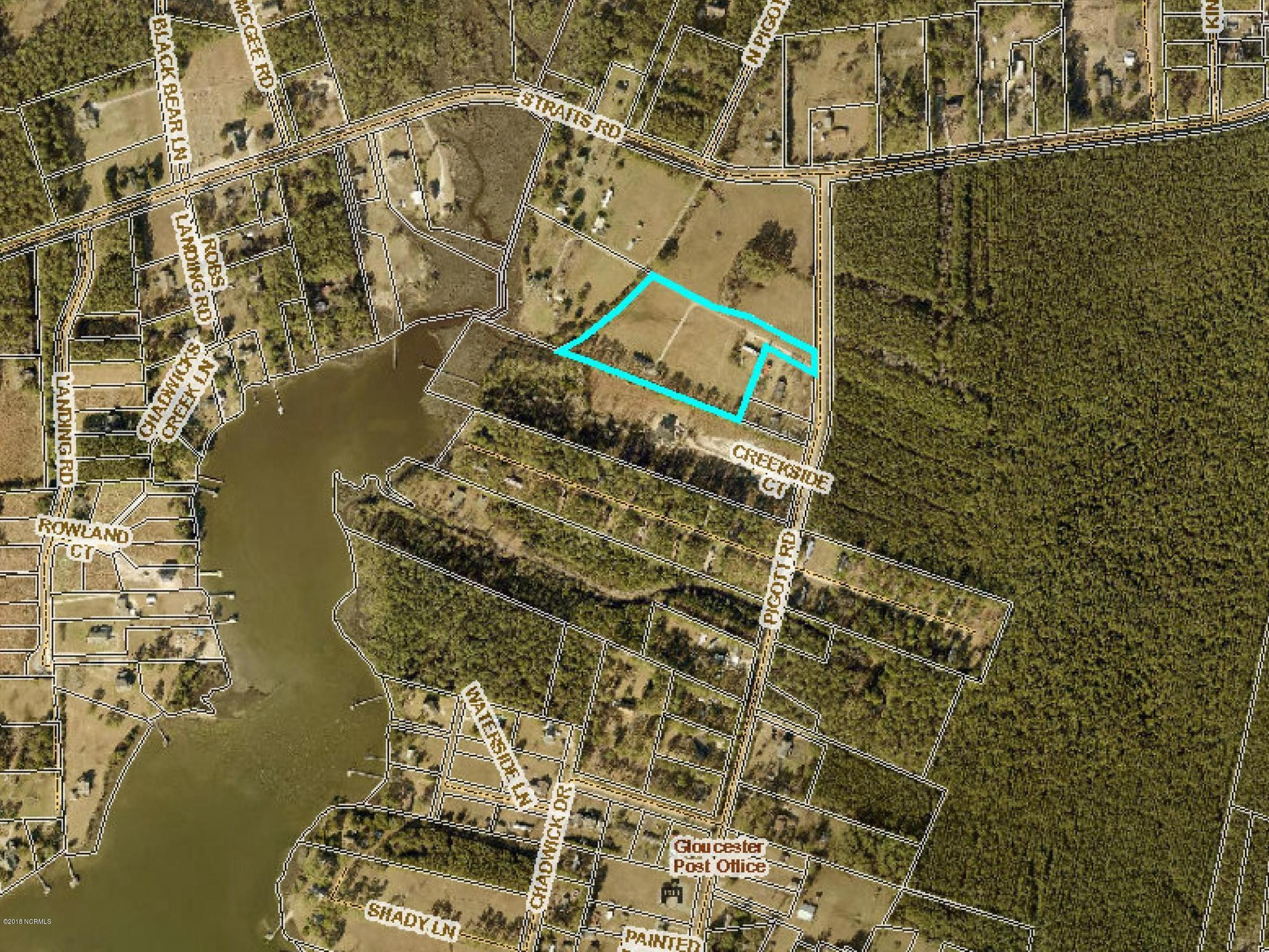 150 Pigott Road, Gloucester, North Carolina 28528, ,Residential land,For sale,Pigott,100229591