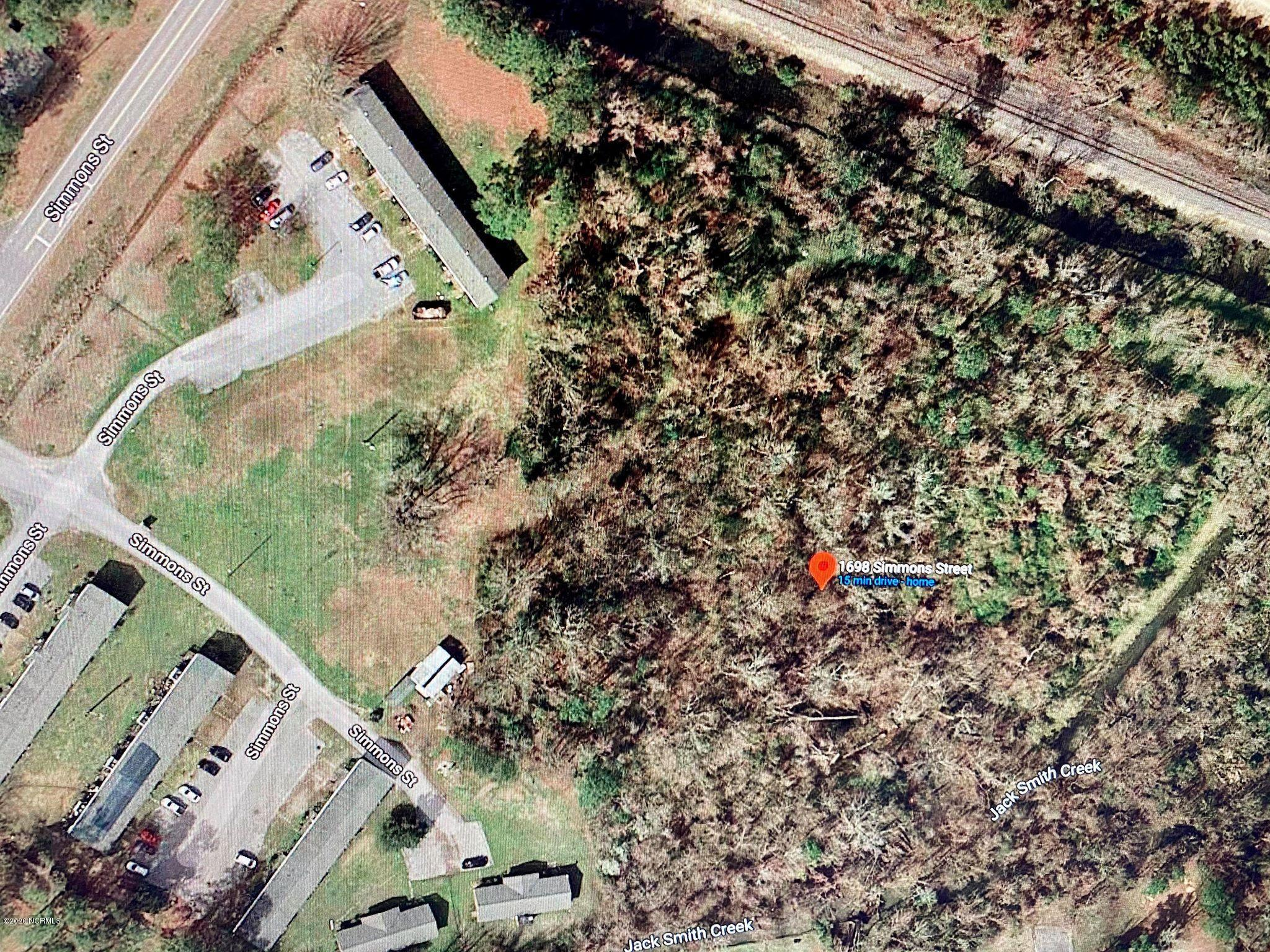 1698 Simmons Street, New Bern, North Carolina 28560, ,Undeveloped,For sale,Simmons,100229954