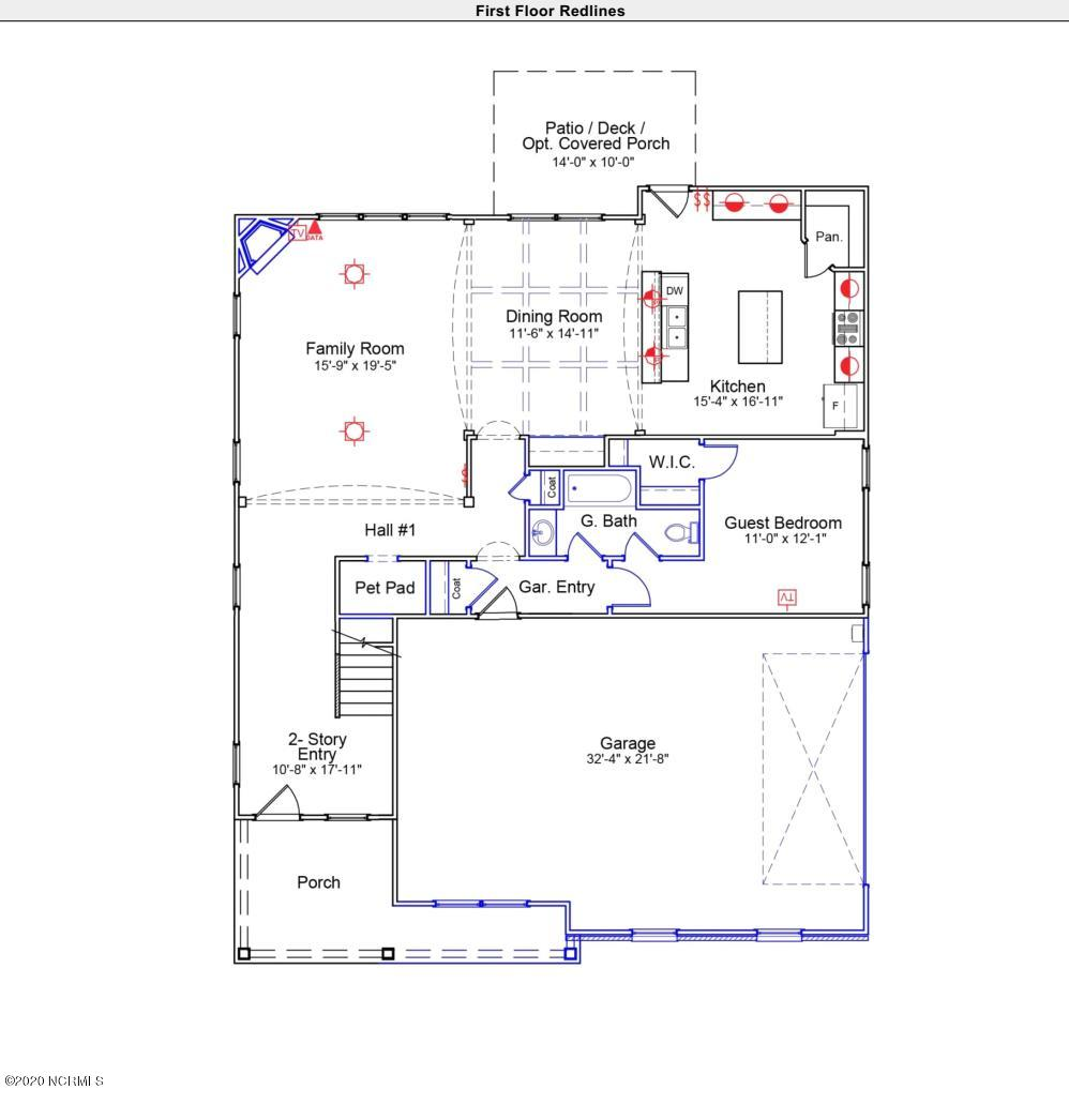 45 Passerine Path, Hampstead, North Carolina 28443, 5 Bedrooms Bedrooms, 10 Rooms Rooms,4 BathroomsBathrooms,Single family residence,For sale,Passerine,100231001
