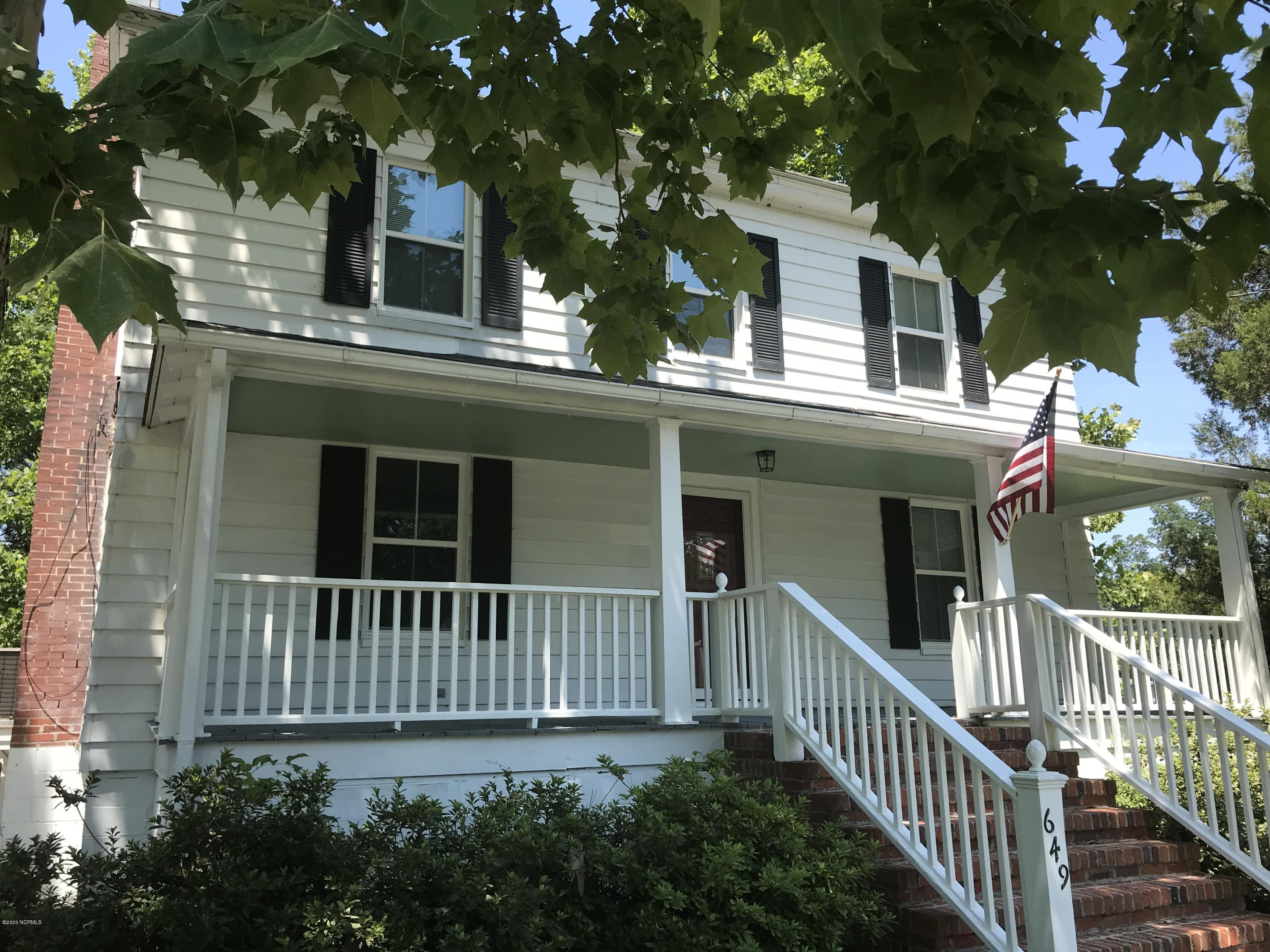 649 Main Street, Belhaven, North Carolina 27810, 3 Bedrooms Bedrooms, 7 Rooms Rooms,1 BathroomBathrooms,Single family residence,For sale,Main,100231030