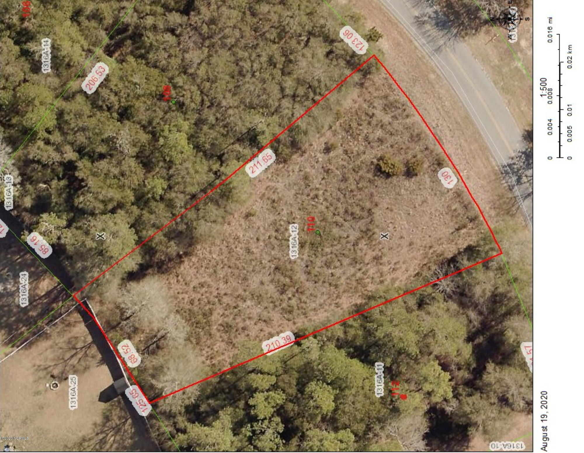 110 Harbour Drive, Hubert, North Carolina 28539, ,Residential land,For sale,Harbour,100232464