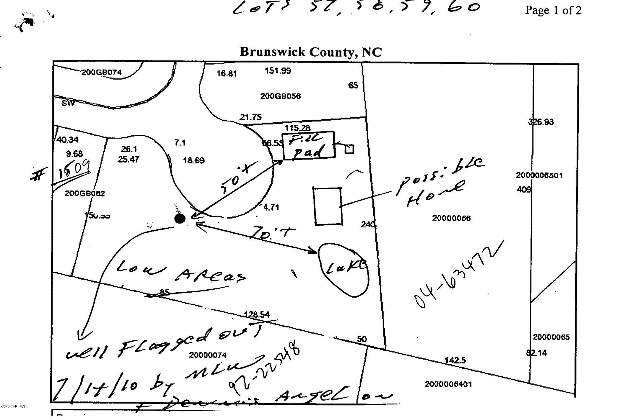 1517 Pine Tree Circle, Supply, North Carolina 28462, ,Residential land,For sale,Pine Tree,100231785