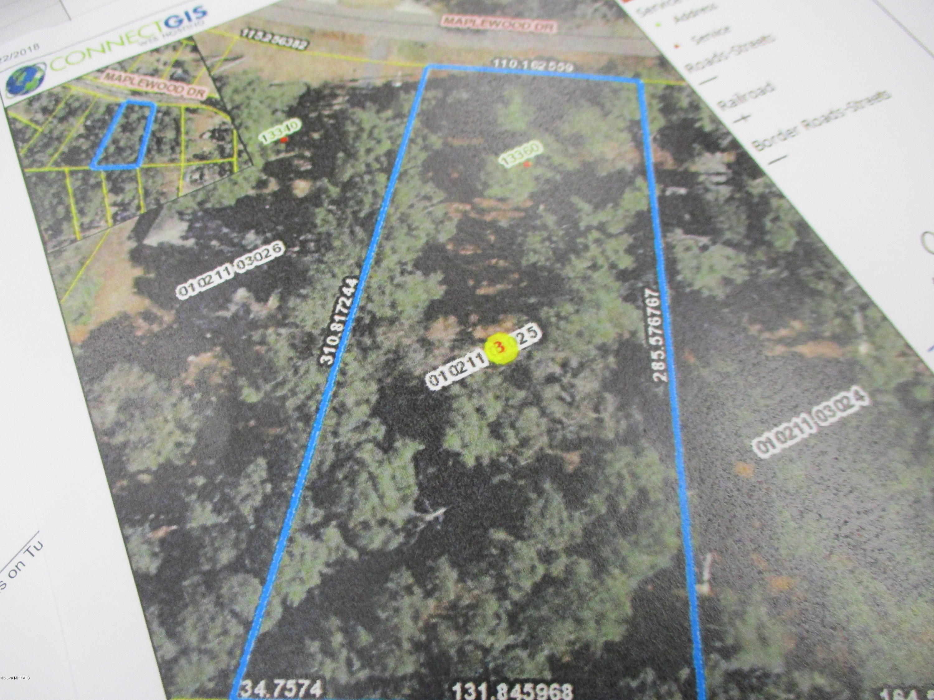 13360 Maplewood Drive, Laurinburg, North Carolina 28352, ,Residential land,For sale,Maplewood,96036991