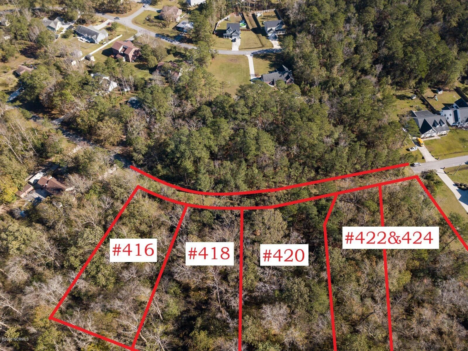 423 Candlewood Drive, Jacksonville, North Carolina 28540, ,Residential land,For sale,Candlewood,100247314