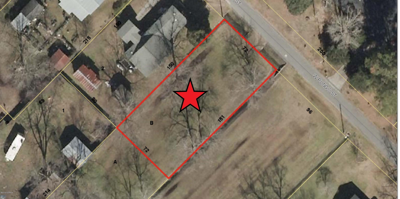 Lot B Pungo Street, Belhaven, North Carolina 27810, ,Residential land,For sale,Pungo,100249052