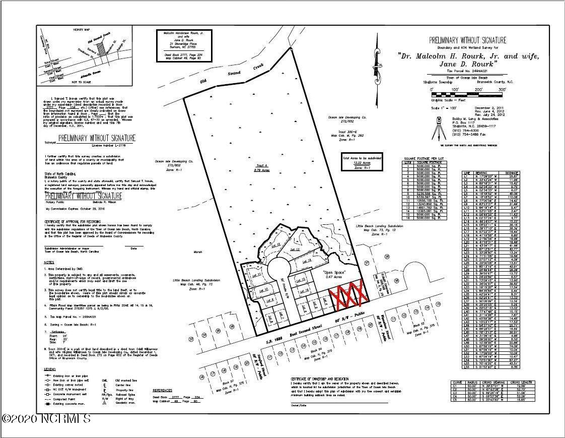 301 Second Street, Ocean Isle Beach, North Carolina 28469, ,Undeveloped,For sale,Second,20661413