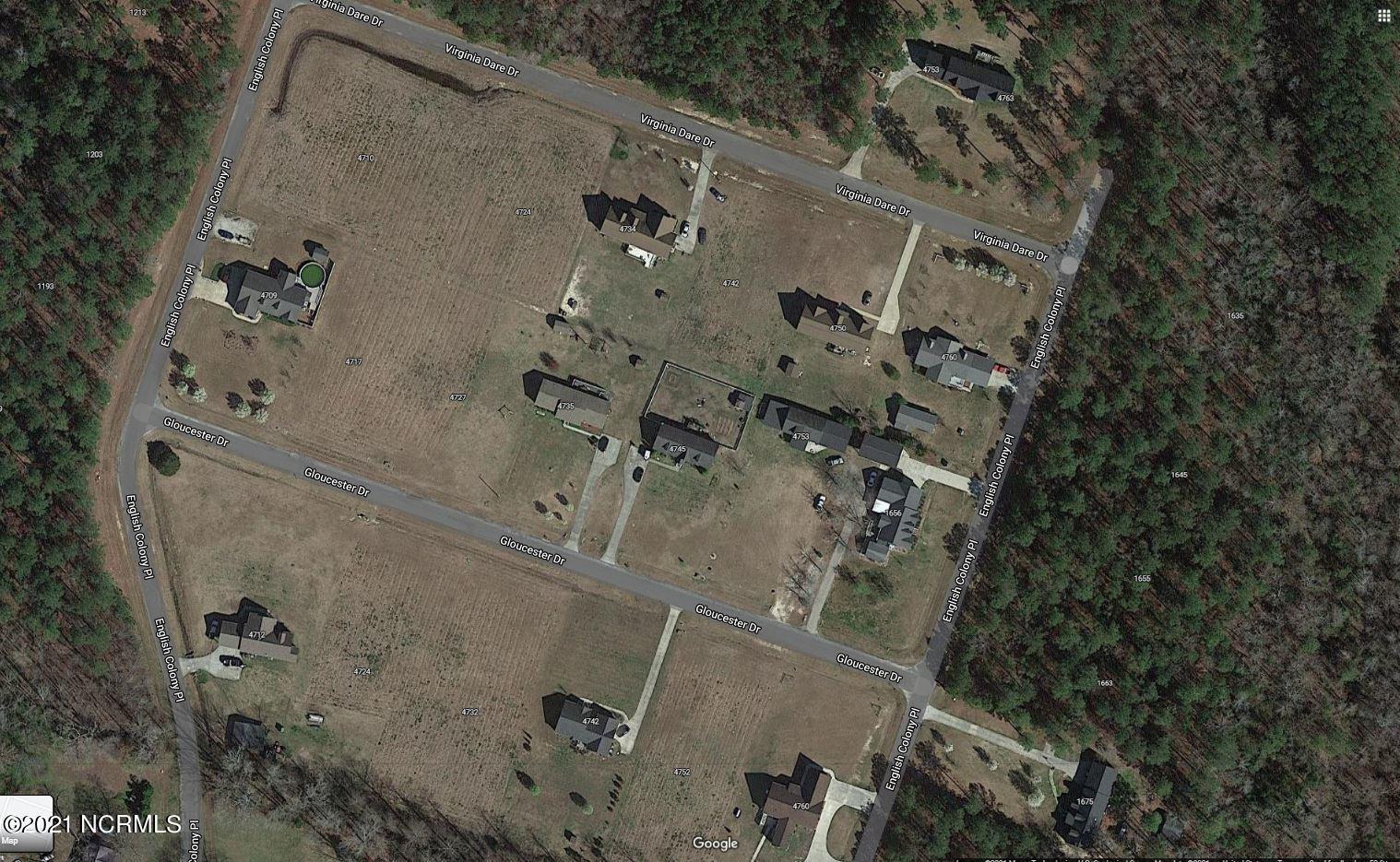 1167 English Colony Place, Washington, North Carolina 27889, ,Residential land,For sale,English Colony,100260419