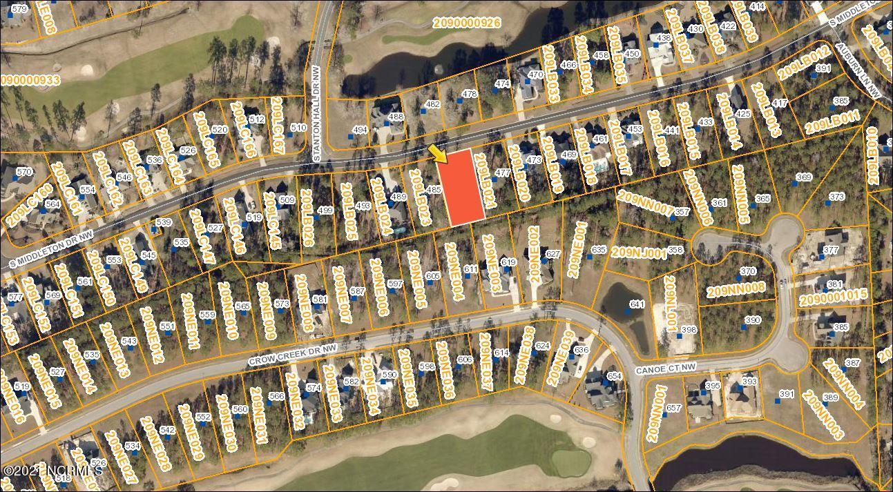 481 Middleton Drive, Calabash, North Carolina 28467, ,Residential land,For sale,Middleton,100260997