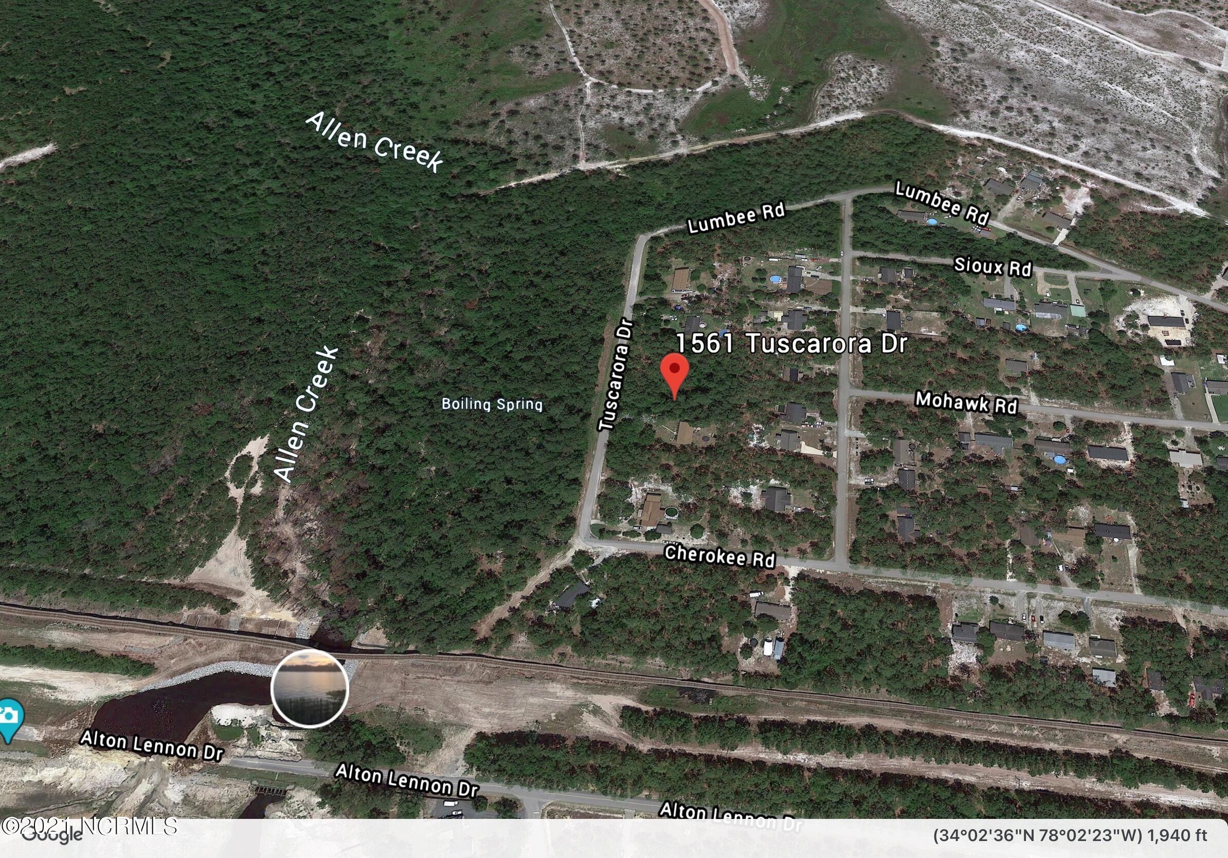 8 Tuscarora Road, Boiling Spring Lakes, North Carolina 28461, ,Residential land,For sale,Tuscarora,100261172