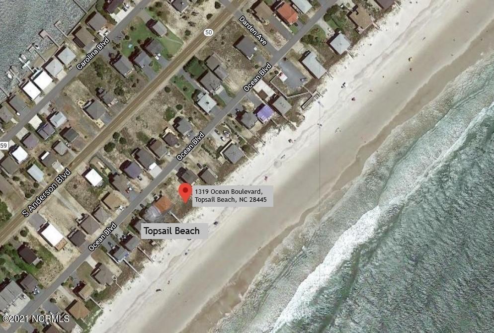 1319 Ocean Boulevard, Topsail Beach, North Carolina 28445, ,Residential land,For sale,Ocean,100261144