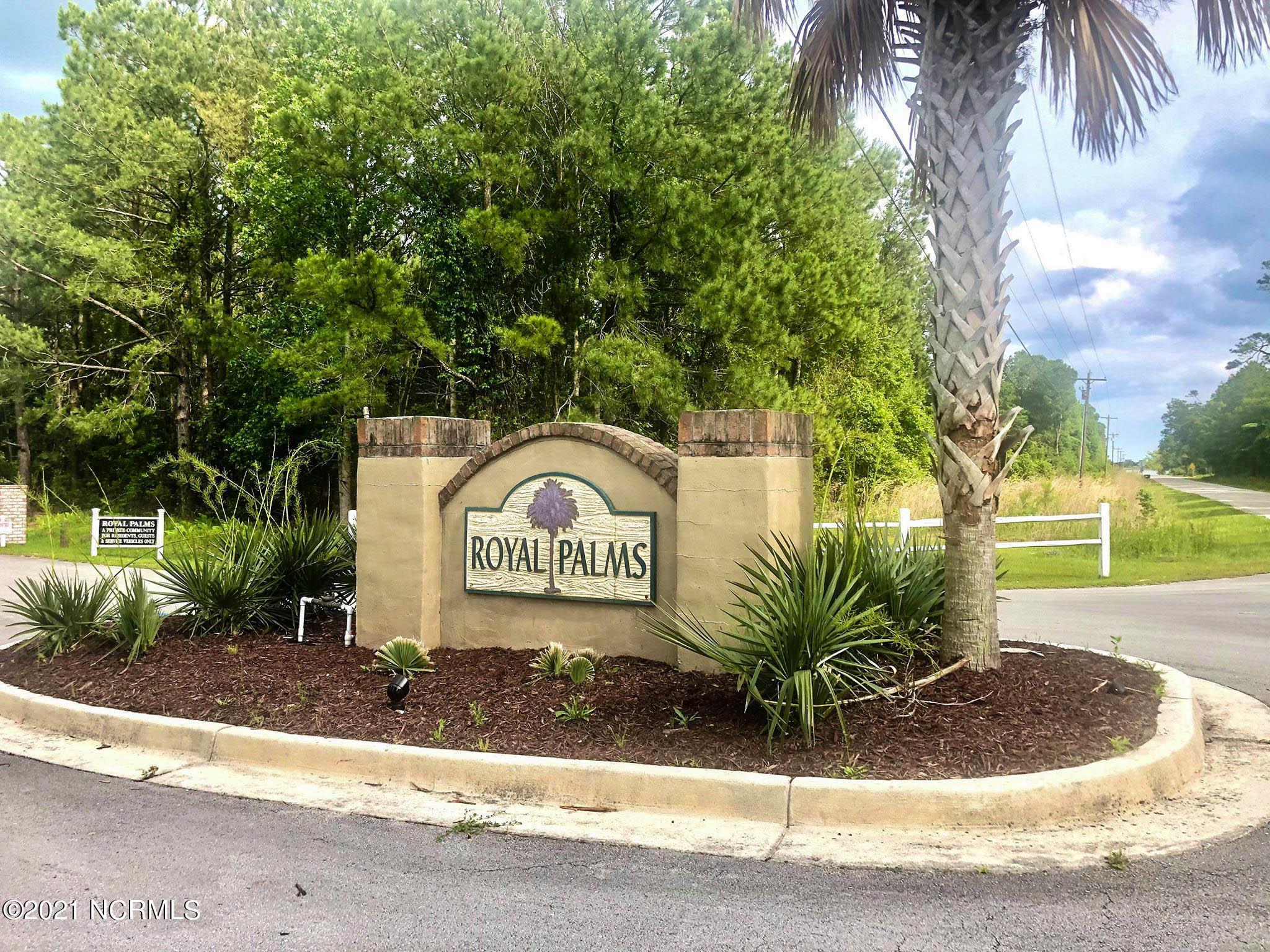 210 Royal Palms Way, Holly Ridge, North Carolina 28445, ,Residential land,For sale,Royal Palms,100261438