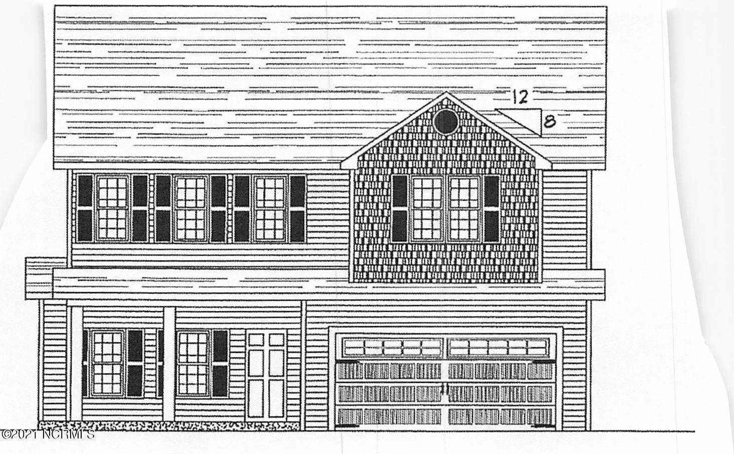 2811 Bettye Gresham Lane, New Bern, North Carolina 28562, 4 Bedrooms Bedrooms, 9 Rooms Rooms,2 BathroomsBathrooms,Single family residence,For sale,Bettye Gresham,100261738