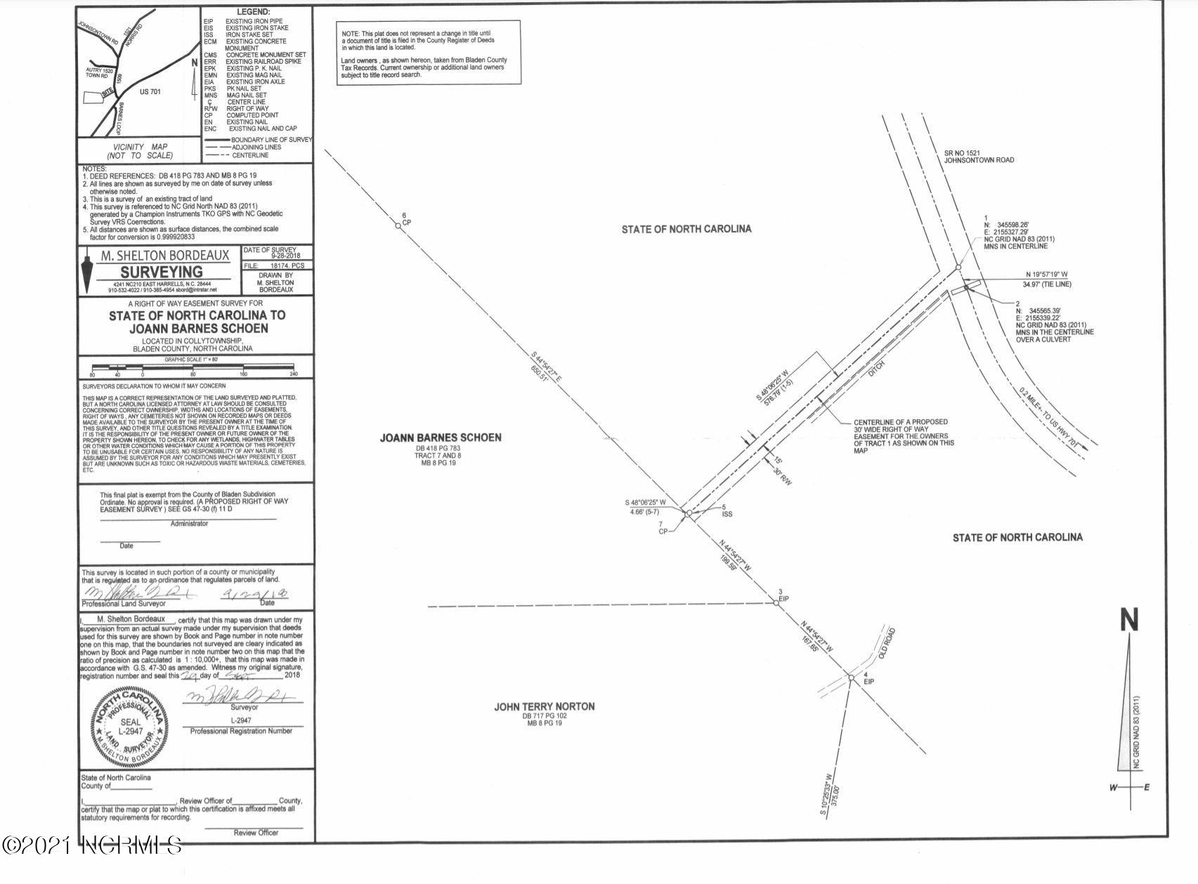 0 Johnsontown Road, White Lake, North Carolina 28337, ,Undeveloped,For sale,Johnsontown Road,100263107