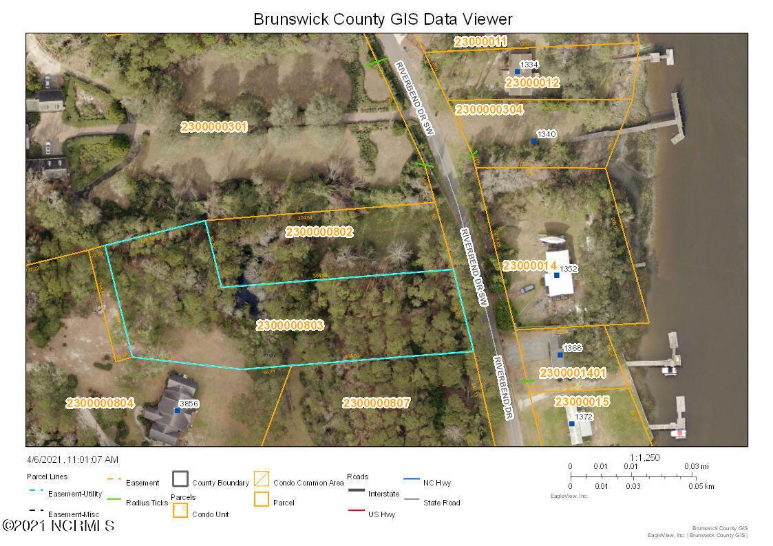 1361 Riverbend Drive, Shallotte, North Carolina 28470, ,Residential land,For sale,Riverbend,100265062