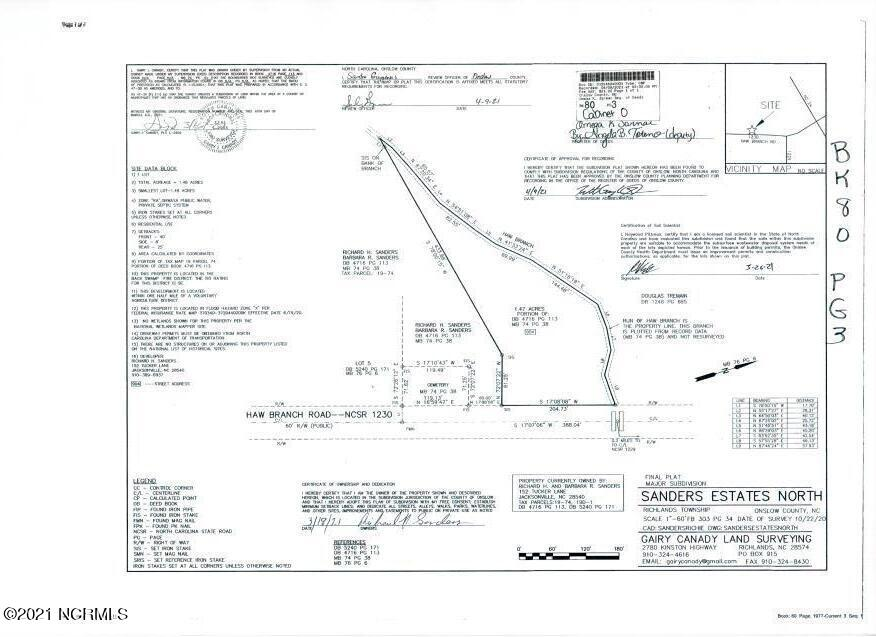 904 Haw Branch Road, Beulaville, North Carolina 28518, ,Residential land,For sale,Haw Branch,100229985