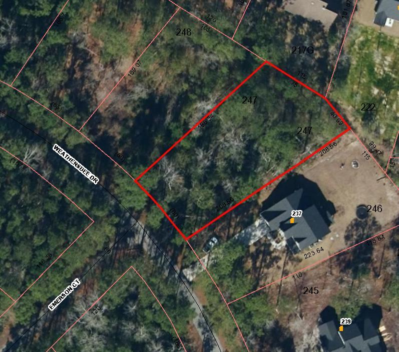 247 Weathersbee Drive, Hampstead, North Carolina 28443, ,Residential land,For sale,Weathersbee,100268583