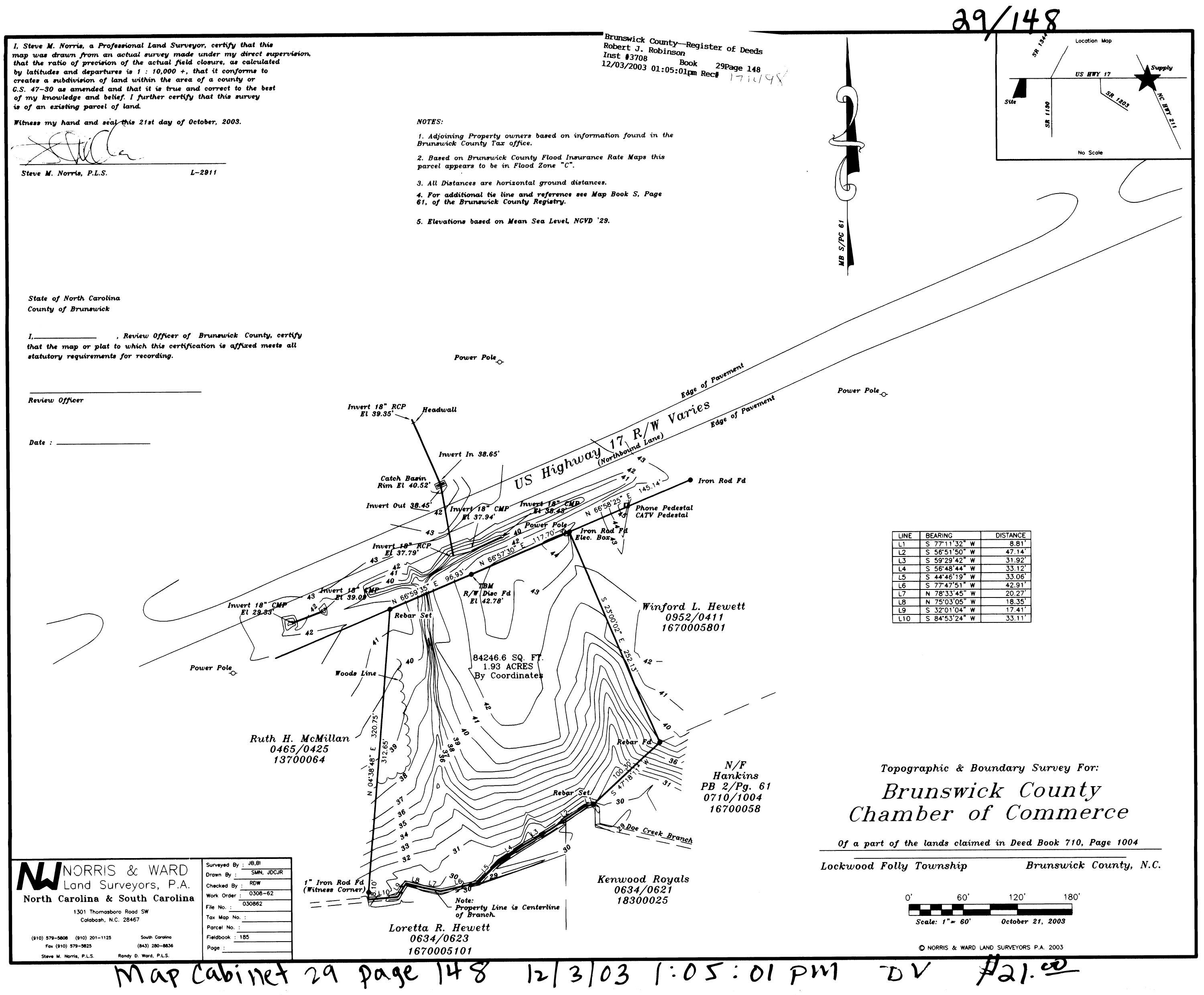 1.93 Ac Us Hwy 17, Supply, North Carolina 28462, ,Undeveloped,For sale,Us Hwy 17,100269171