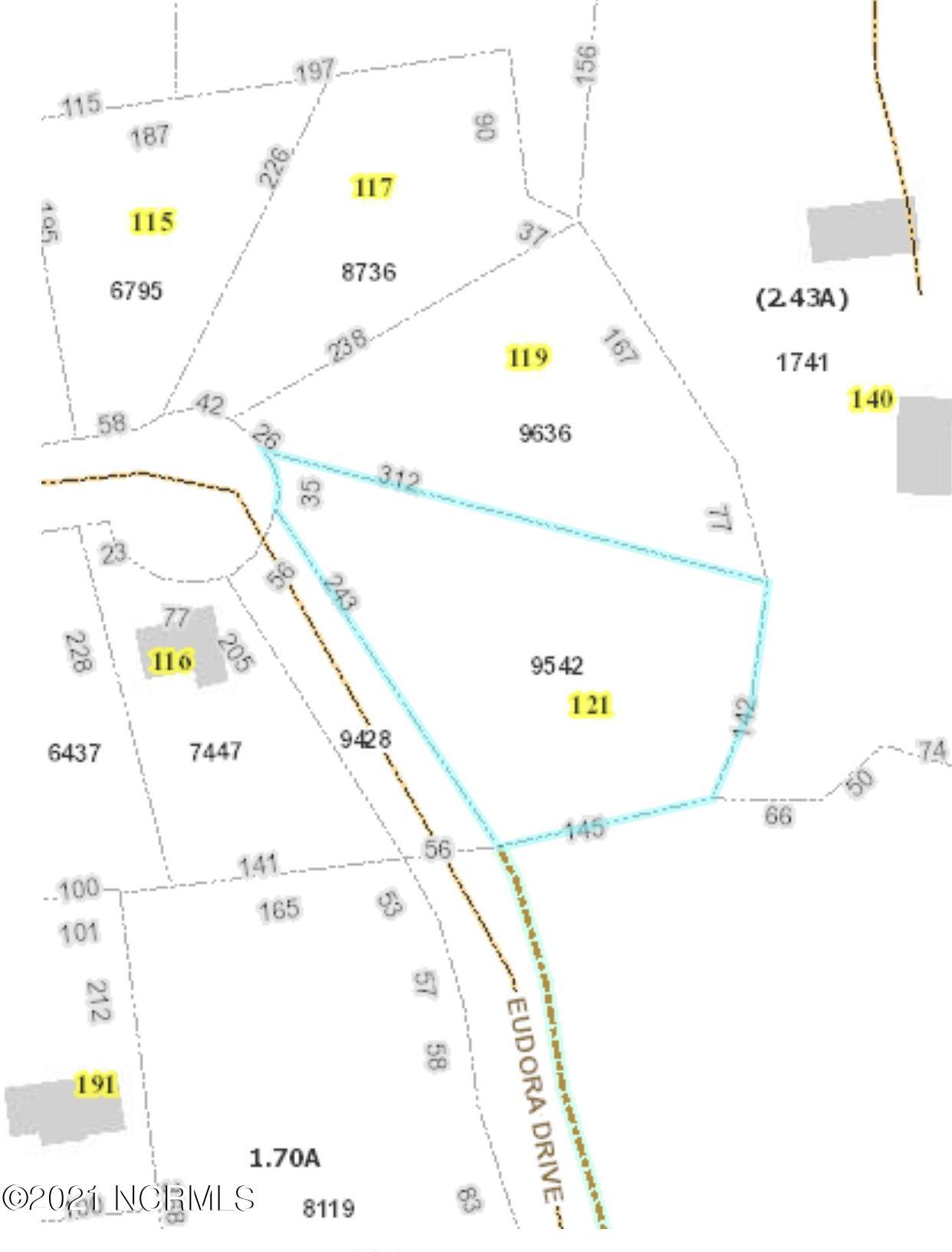 121 Eudora, Newport, North Carolina 28570, ,Residential land,For sale,Eudora,100275910