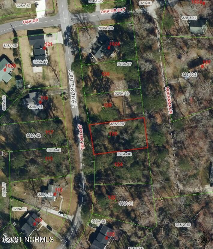 126 Jupiter Trail, Jacksonville, North Carolina 28546, ,Residential land,For sale,Jupiter,100275752