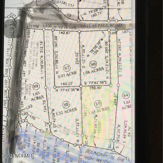 420 Dallas Paul Road, Belhaven, North Carolina 27810, ,Residential land,For sale,Dallas Paul,100276851