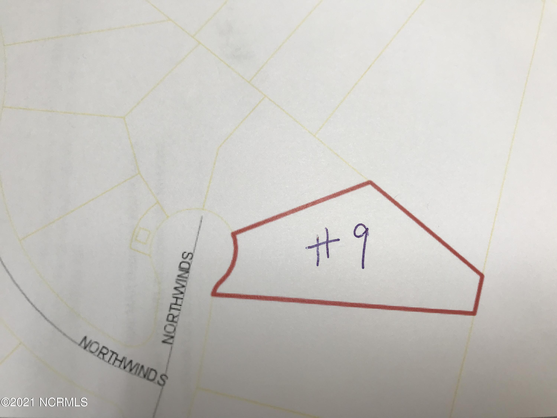 Lot 9 Northwinds Way, Washington, North Carolina 27889, ,Residential land,For sale,Northwinds,100277889