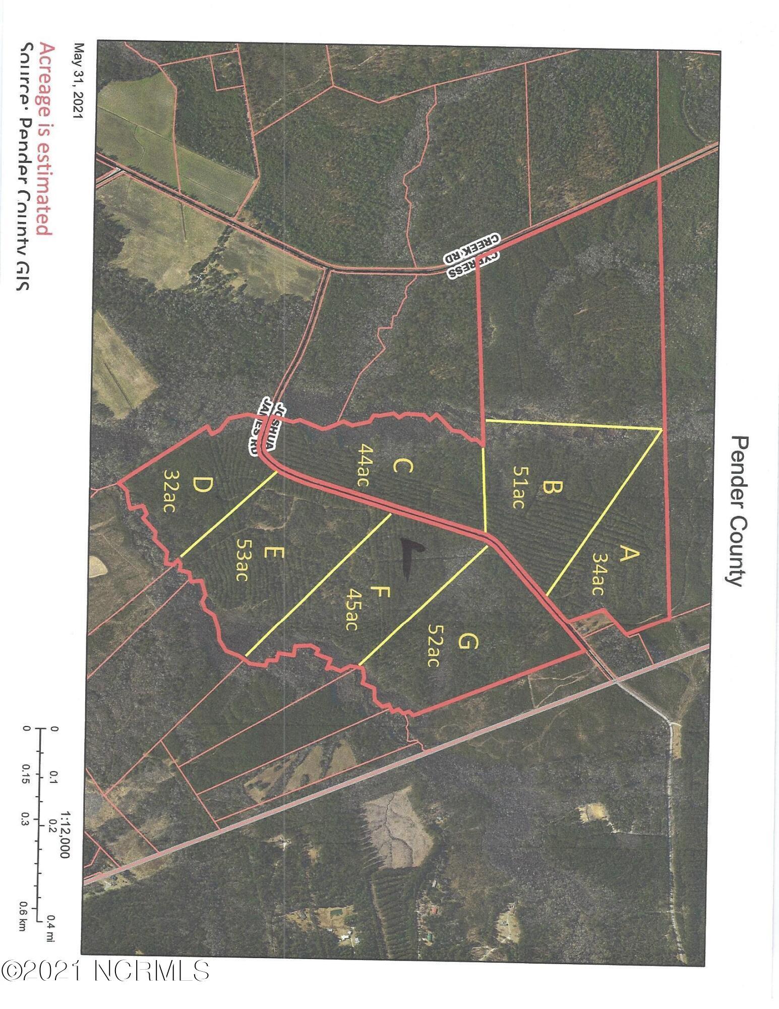 Lot F Joshua James Road, Maple Hill, North Carolina 28454, ,Wooded,For sale,Joshua James,100278436