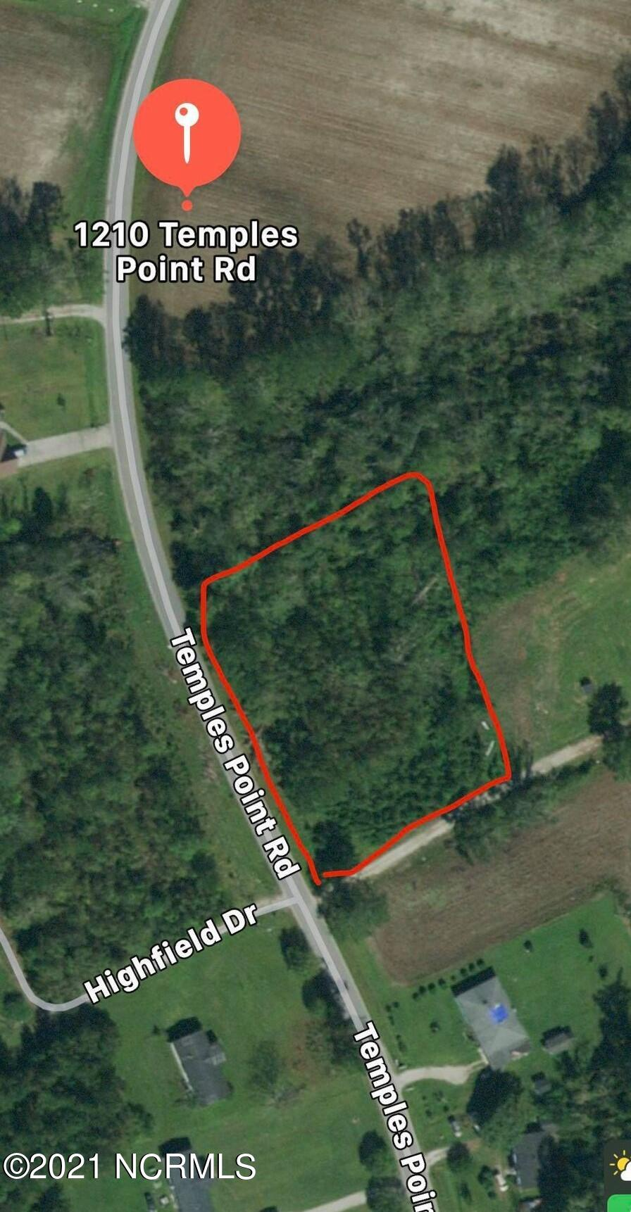 1210 Temples Point Road, Havelock, North Carolina 28532, ,Residential land,For sale,Temples Point,100278533
