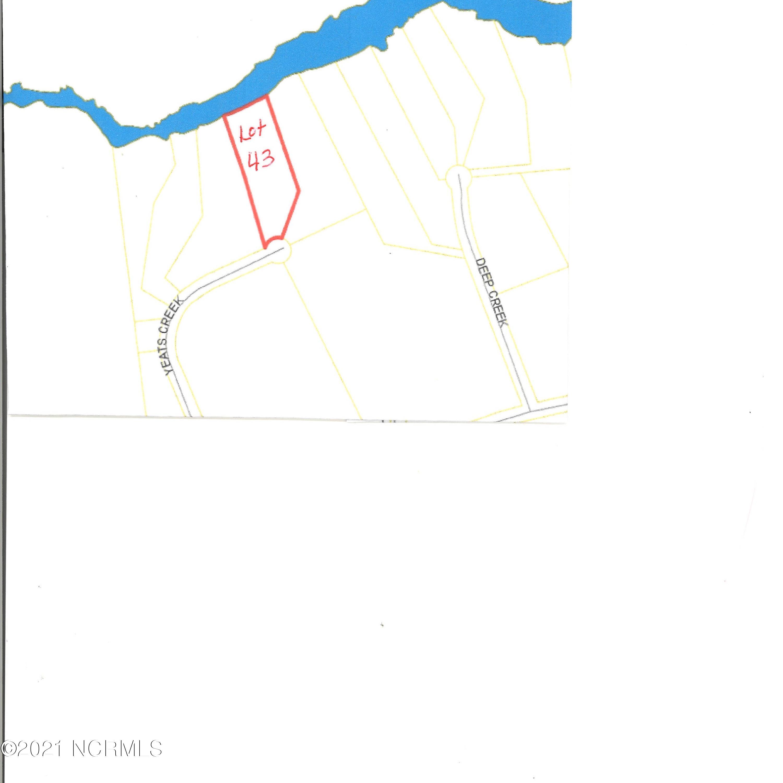 Lot 43 Yeats Creek Road, Chocowinity, North Carolina 27817, ,Residential land,For sale,Yeats Creek,100276629
