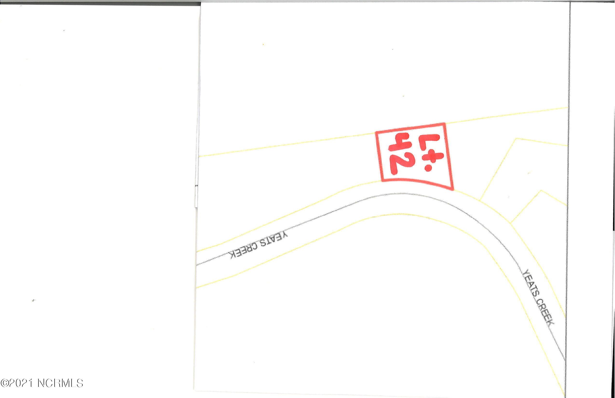 Lot42&42a Yeats Creek Road, Chocowinity, North Carolina 27817, ,Residential land,For sale,Yeats Creek,100276625