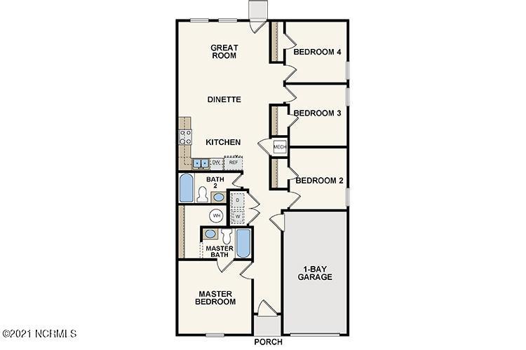 1249 Zoysia Drive, Rocky Mount, North Carolina 27801, 3 Bedrooms Bedrooms, 6 Rooms Rooms,2 BathroomsBathrooms,Single family residence,For sale,Zoysia,100281409