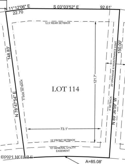104 Shoal Avenue, Hampstead, North Carolina 28443, ,Residential land,For sale,Shoal,100284507