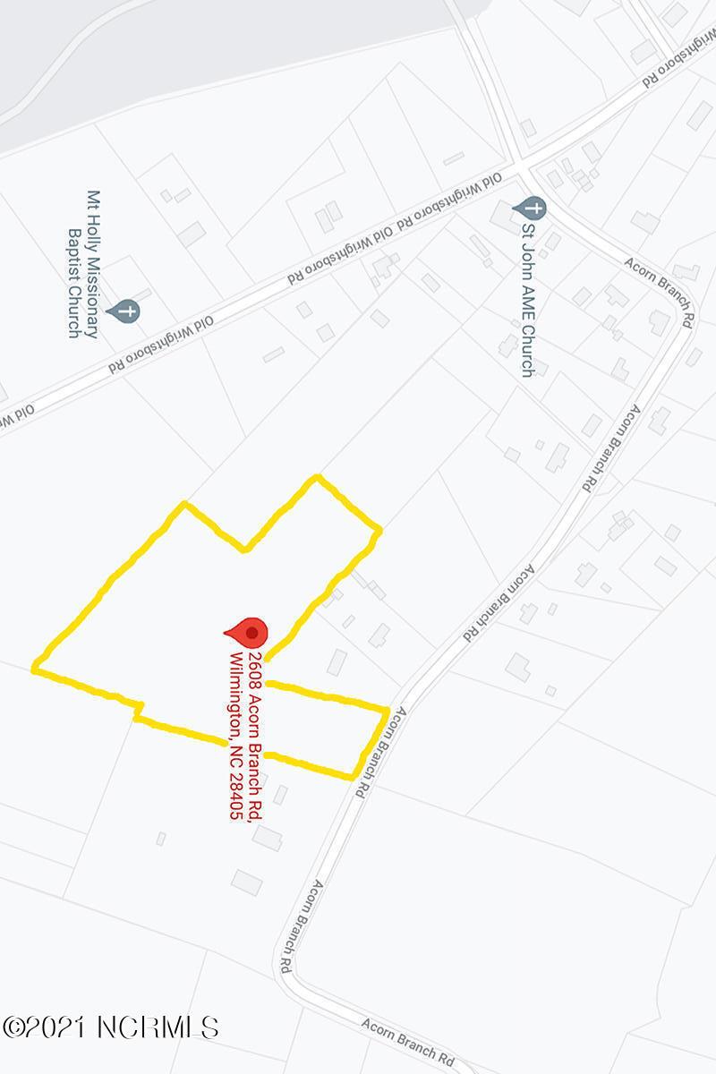 2608 Acorn Branch Road, Wilmington, North Carolina 28405, ,Residential land,For sale,Acorn Branch,100284526