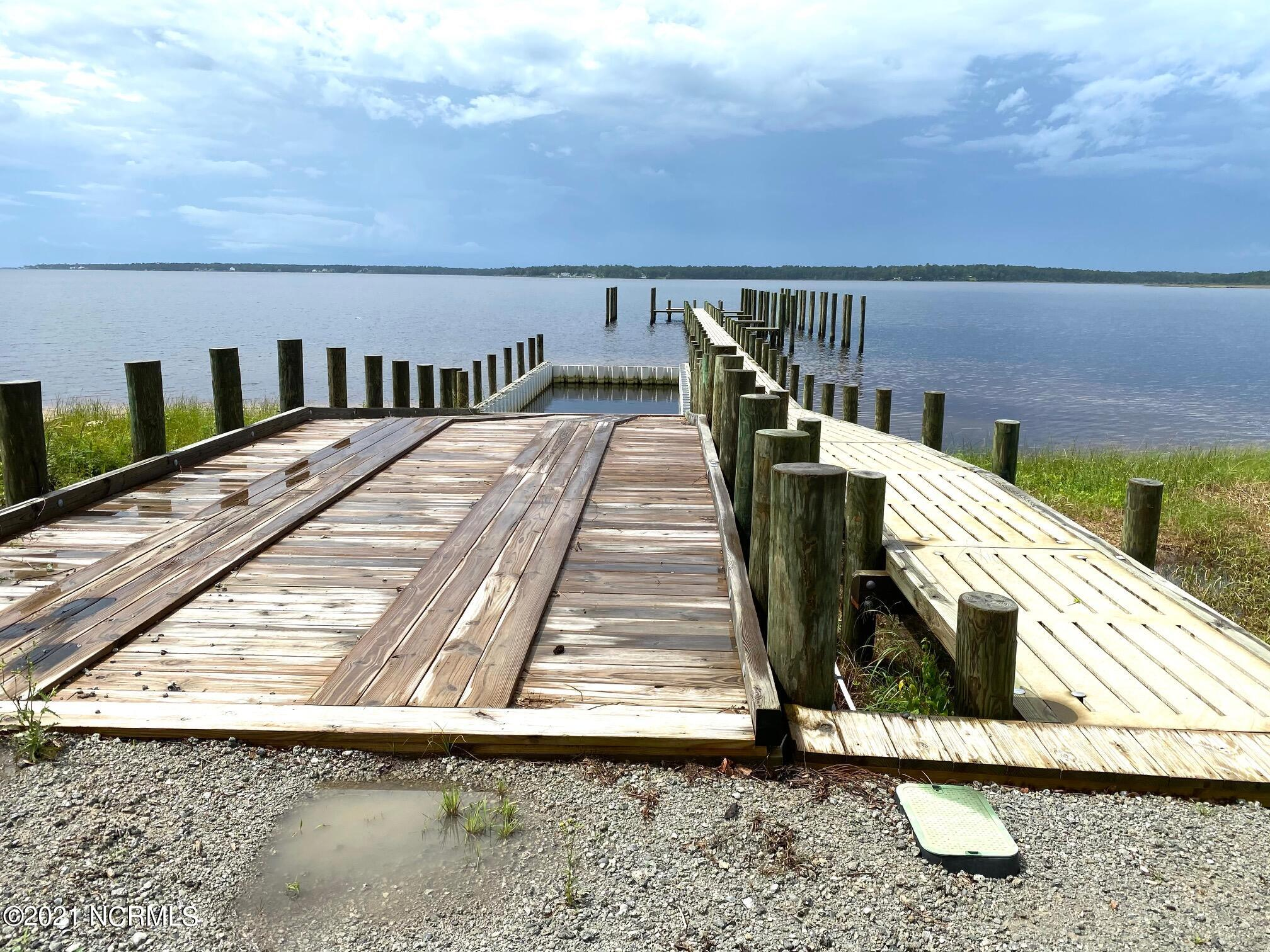 Boat Ramp and Dock for Residents