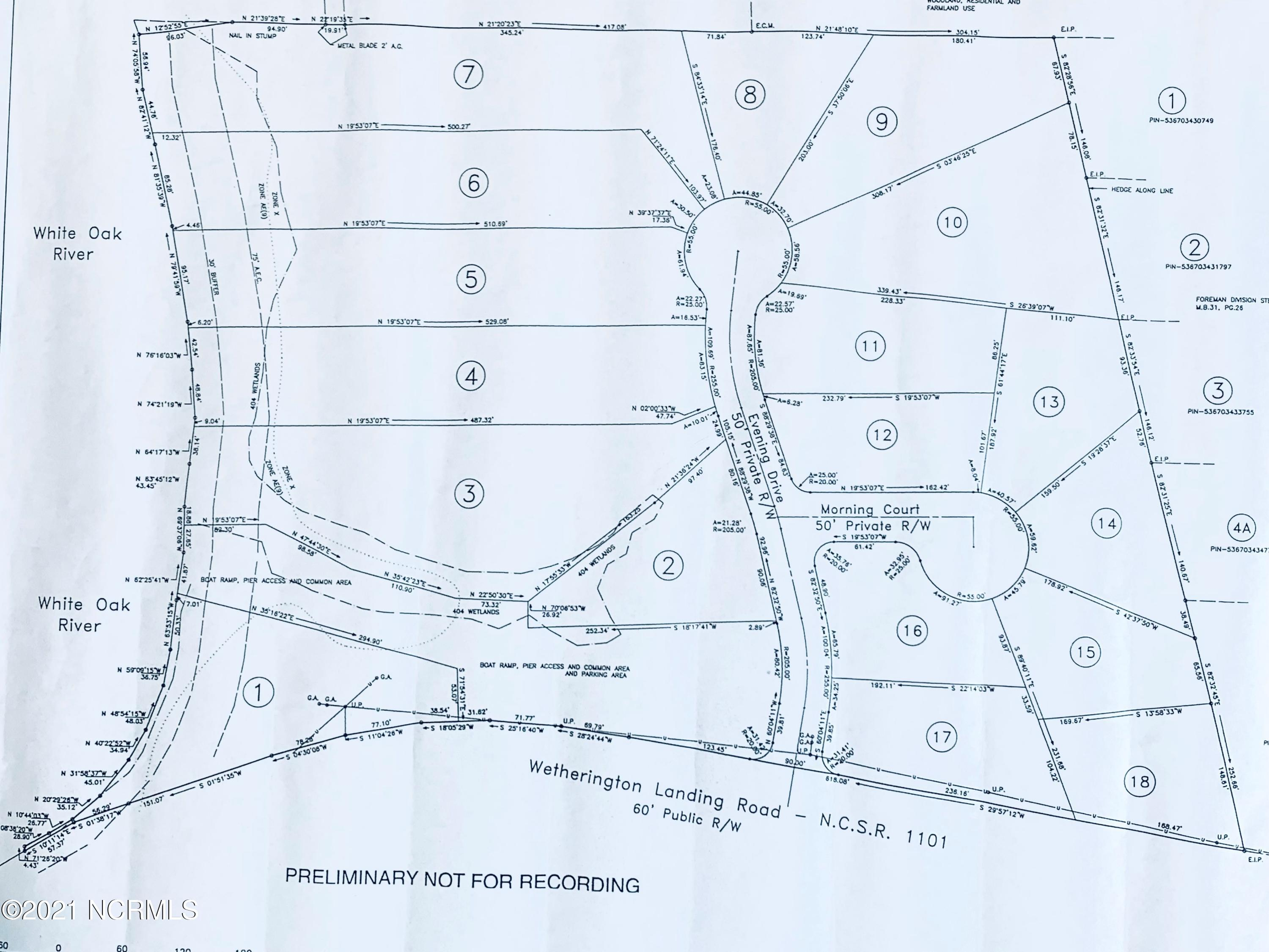 Lot 18 Evening Drive, Stella, North Carolina 28582, ,Residential land,For sale,Evening,100285247