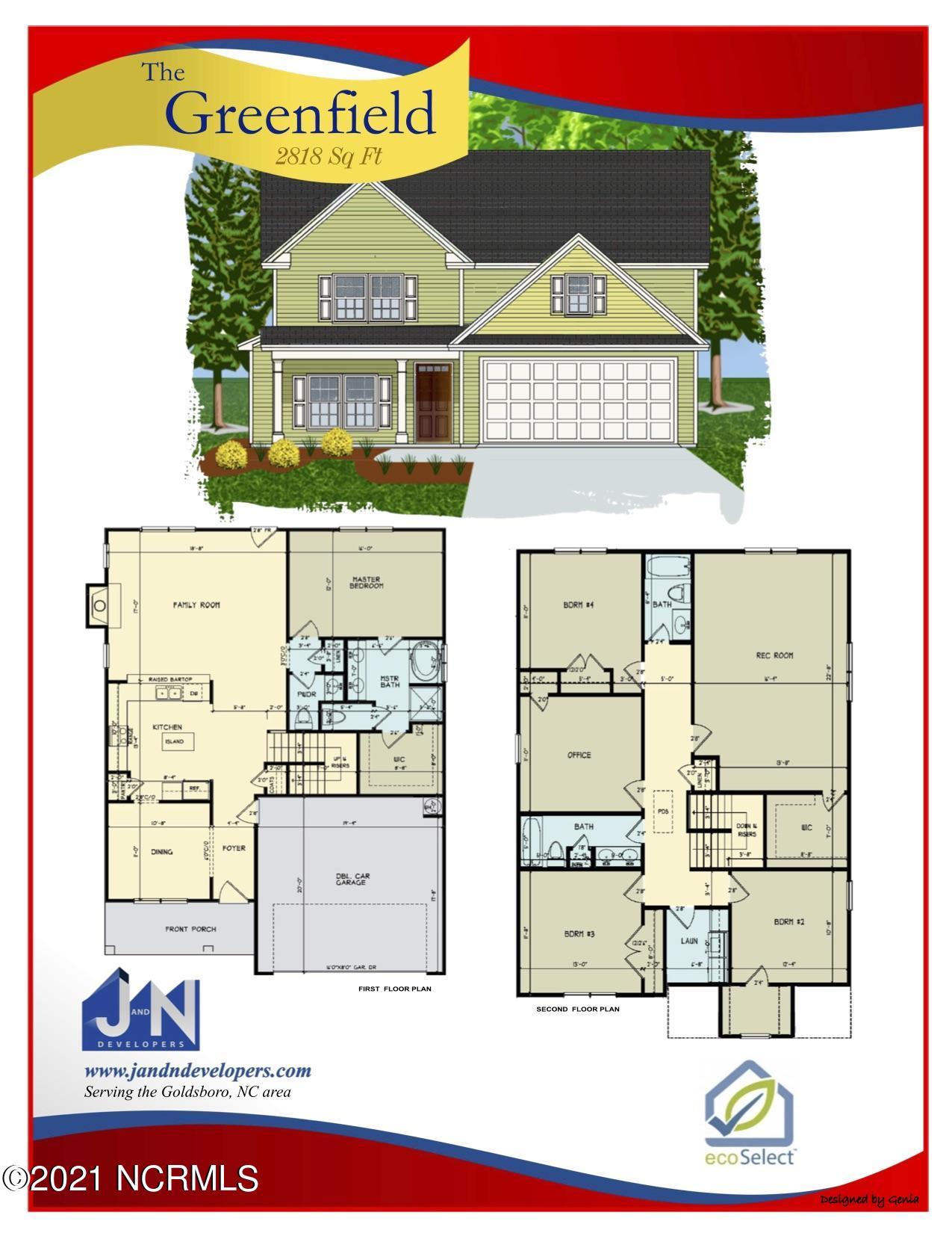 110 Aspen Ridge Drive, Pikeville, North Carolina 27863, 4 Bedrooms Bedrooms, 10 Rooms Rooms,3 BathroomsBathrooms,Single family residence,For sale,Aspen Ridge Drive,100285368