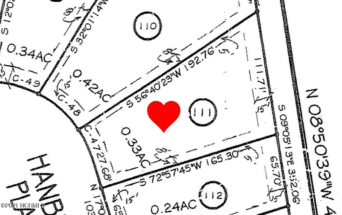 6786 Hanbury Place, Ocean Isle Beach, North Carolina 28469, ,Residential land,For sale,Hanbury,100285155