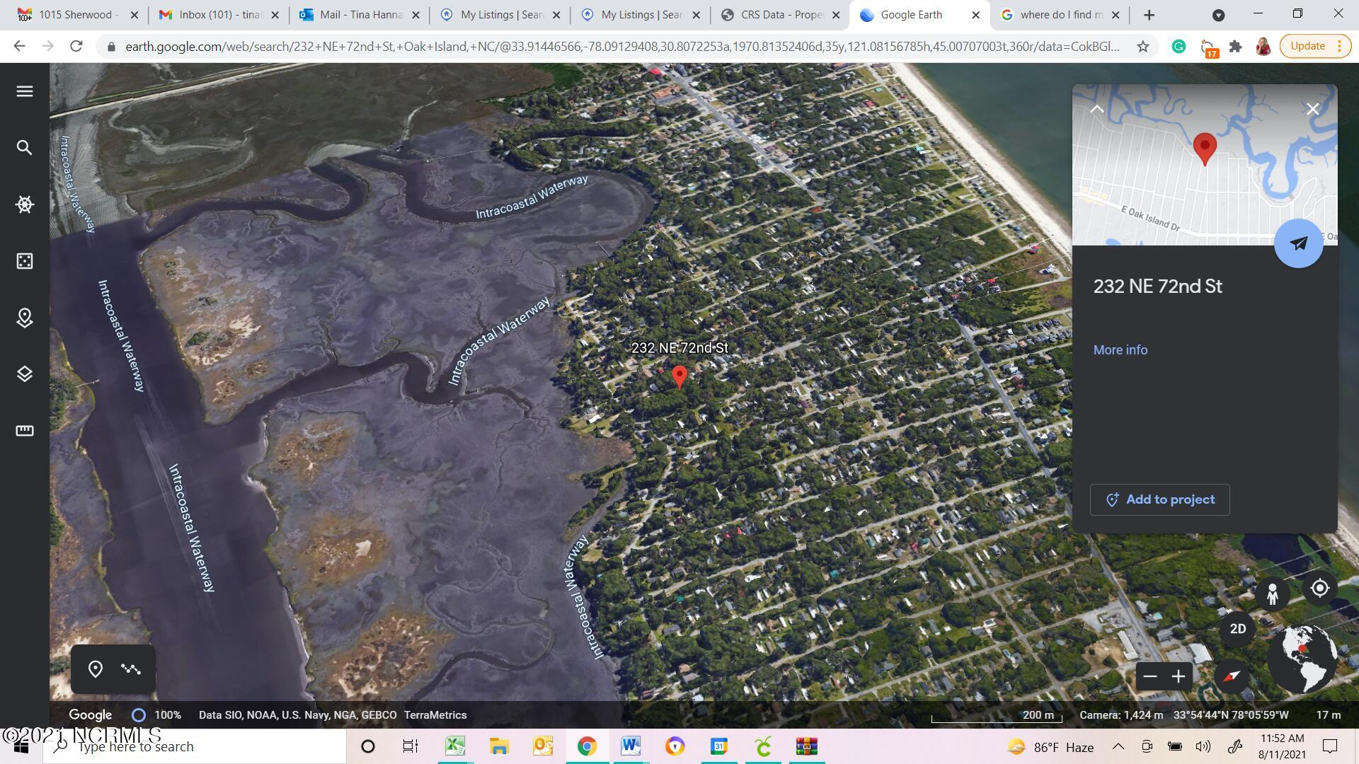 232 72 Street, Oak Island, North Carolina 28465, ,Mobile home lot,For sale,72,100285441