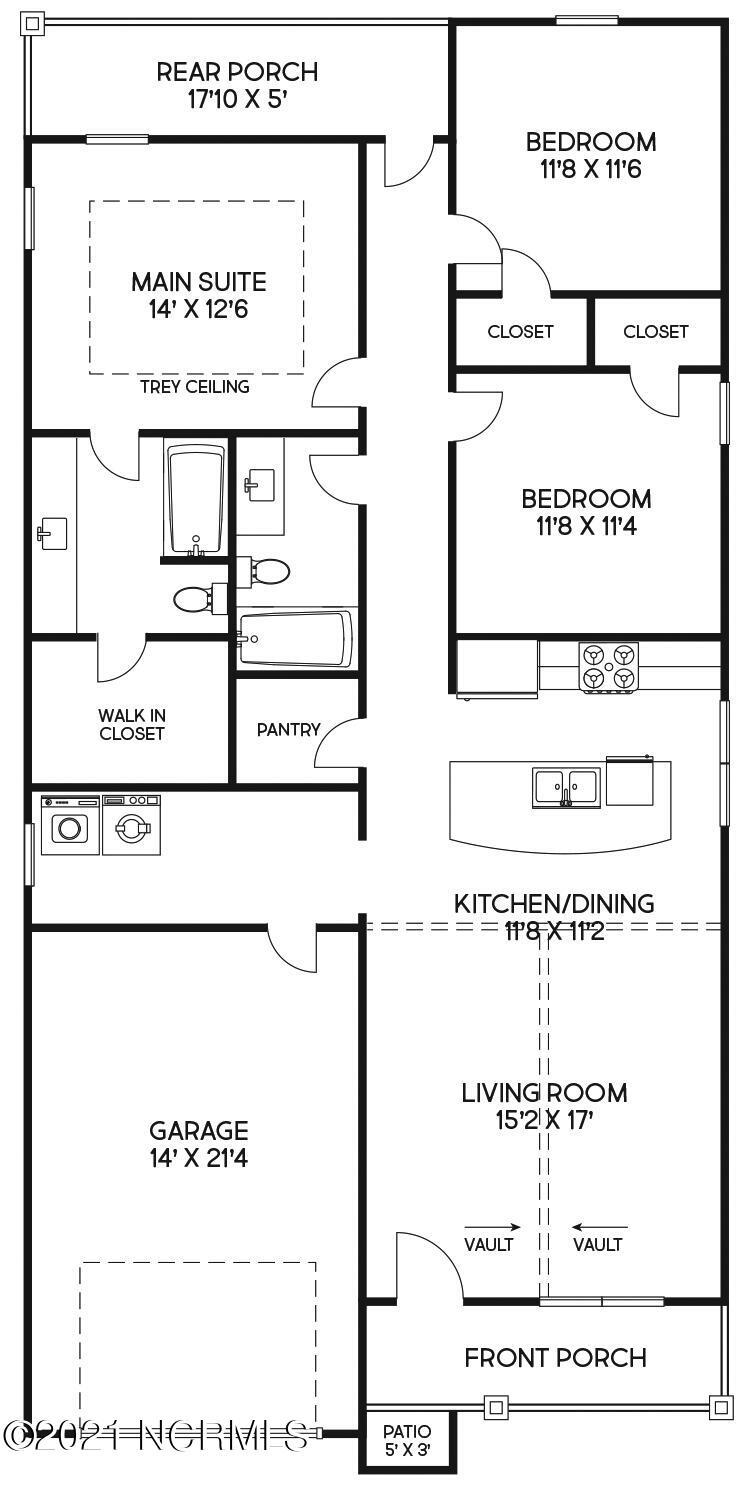 4009 Alandale Drive, Wilmington, North Carolina 28405, 3 Bedrooms Bedrooms, 6 Rooms Rooms,2 BathroomsBathrooms,Single family residence,For sale,Alandale,100286256
