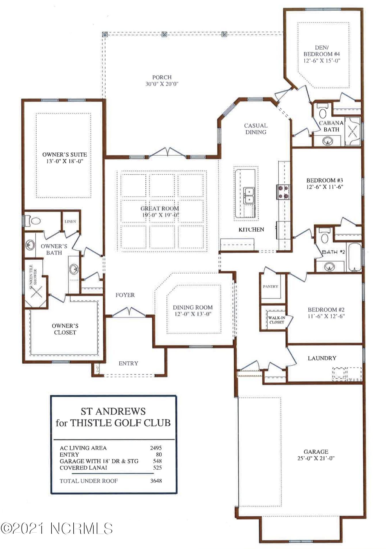 7424 Falkirk Lane, Sunset Beach, North Carolina 28468, 4 Bedrooms Bedrooms, 9 Rooms Rooms,3 BathroomsBathrooms,Single family residence,For sale,Falkirk,100286380