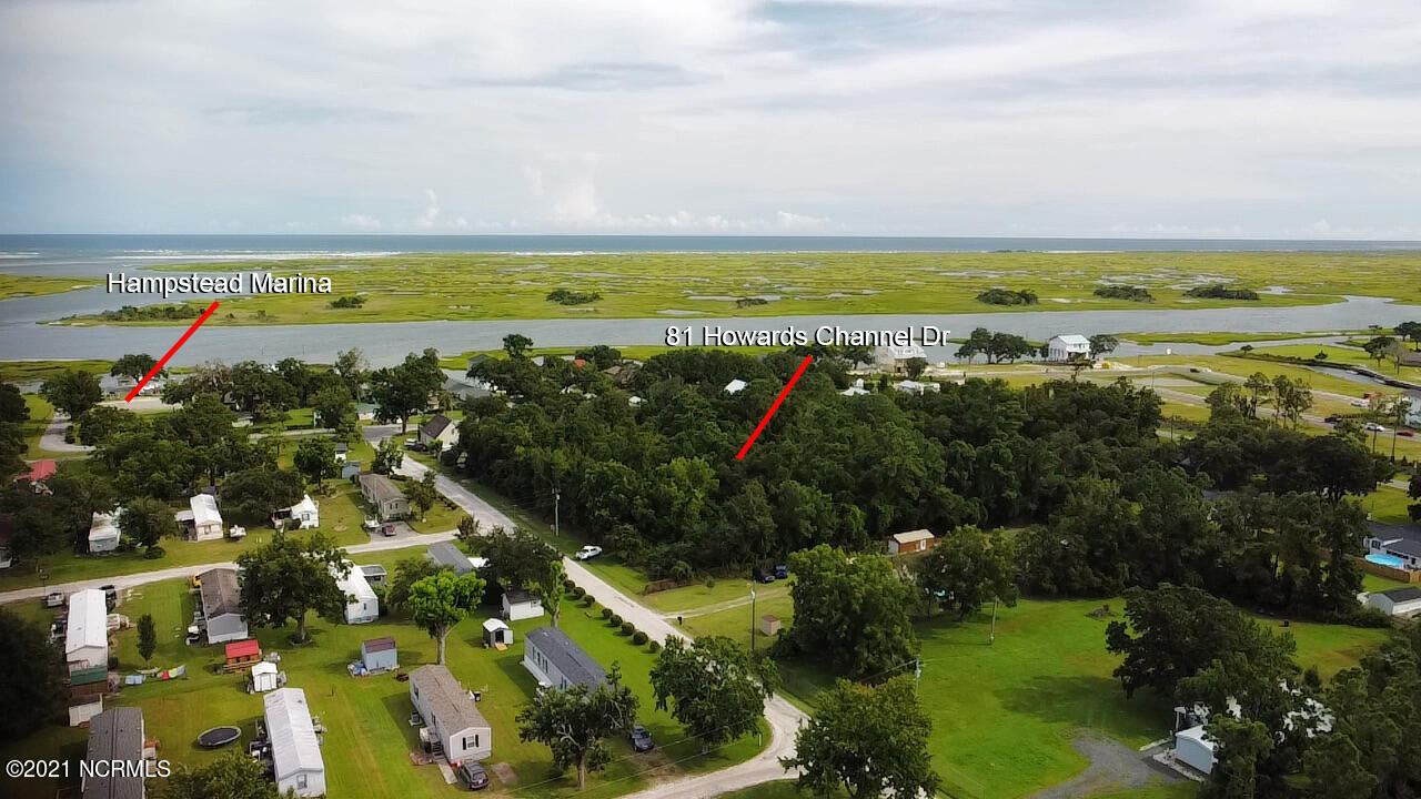 81 Howards Channel Drive, Hampstead, North Carolina 28443, ,Residential land,For sale,Howards Channel,100285596