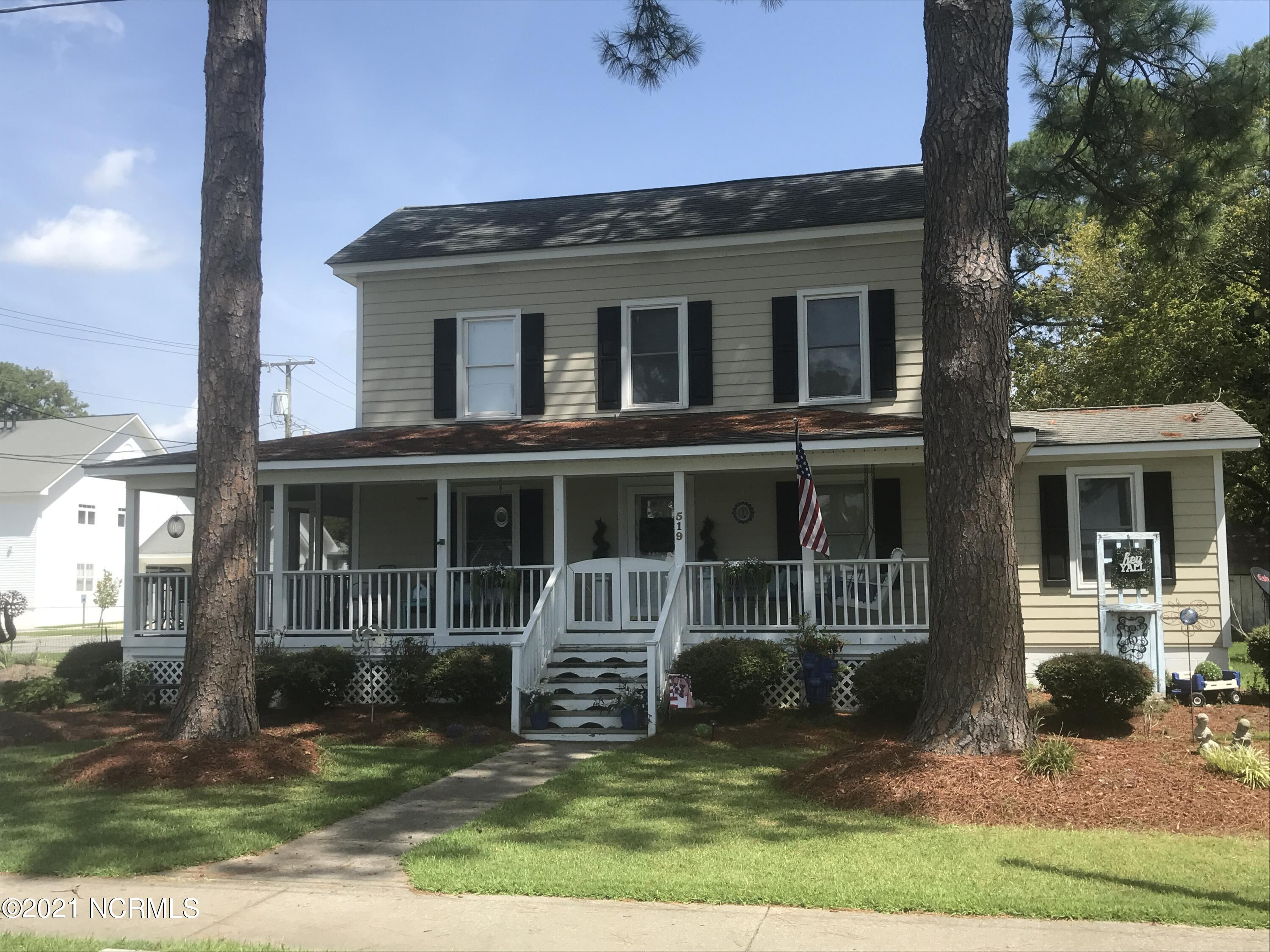 519 Water Street, Belhaven, North Carolina 27810, 4 Bedrooms Bedrooms, 9 Rooms Rooms,2 BathroomsBathrooms,Single family residence,For sale,Water,100247002