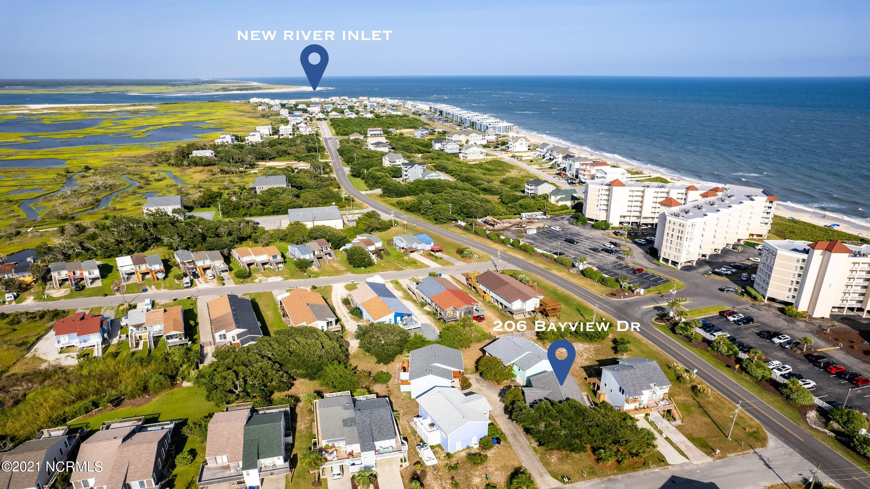 206 Bayview Drive, North Topsail Beach, North Carolina 28460, 3 Bedrooms Bedrooms, 6 Rooms Rooms,2 BathroomsBathrooms,Single family residence,For sale,Bayview,100285047