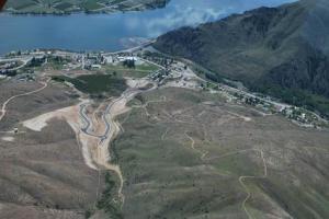 Saska Hills Arial Lake Entiat
