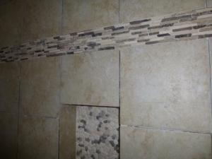 Optional Colors Tile Shower