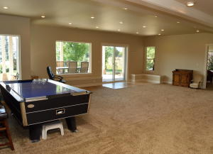 Erickson Downstairs Pool Table