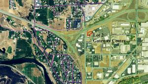 Lot 2 Gateway Center aerial