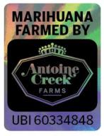 Antoine Creek Farms Halographic Logo