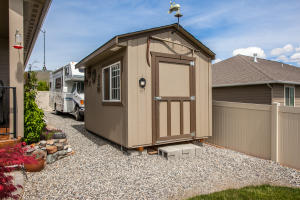 Shed and RV Area